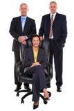 Tre genti di affari mature Immagine Stock Libera da Diritti