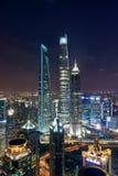 Tre Giants, Shanghai Immagini Stock
