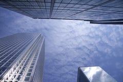 Tre grattacieli Fotografia Stock