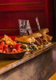 Tre hamburger deliziosi Immagini Stock Libere da Diritti