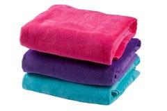 tre handdukar Royaltyfria Bilder