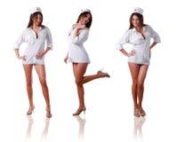 Tre infermiere Immagini Stock