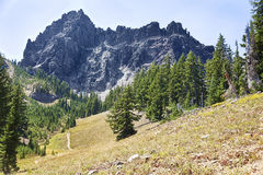 Tre Jack Mountain dalle dita Immagine Stock