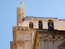 Tre klockor i Ragusa i Sicilien Royaltyfri Fotografi