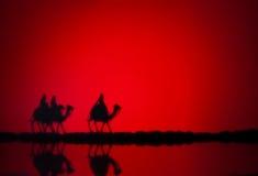 Tre kloka män Royaltyfri Foto