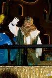 Tre kloka män - Caspar King Royaltyfri Fotografi