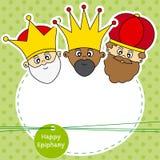 Tre konungar Royaltyfria Bilder