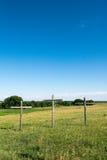 Tre kors i Kansas Royaltyfri Fotografi