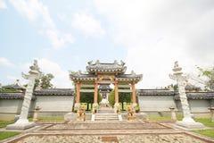 Tre kungariken parkerar, Pattaya Thailand arkivfoto