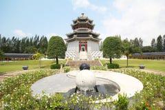 Tre kungariken parkerar, Pattaya Thailand royaltyfria foton