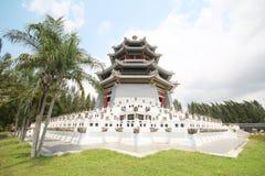 Tre kungariken parkerar, Pattaya Thailand royaltyfri bild