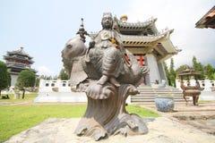 Tre kungariken parkerar, Pattaya Thailand royaltyfri foto