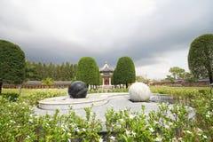 Tre kungariken parkerar, Pattaya Thailand fotografering för bildbyråer