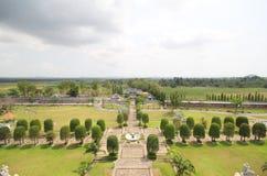 Tre kungariken parkerar, Pattaya Thailand royaltyfri fotografi