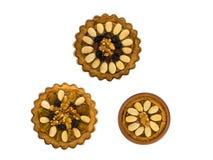 Tre lilla traditionella polska påskkakor Royaltyfri Fotografi