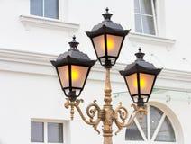 Tre luci forgiate luminose immagini stock libere da diritti