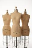 Tre mannequins Fotografia Stock