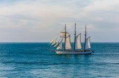 Tre Masted segelbåt av Key West Royaltyfri Foto