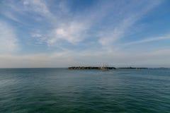 Tre Masted skonare i Key West Royaltyfri Foto