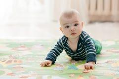 Tre-mesi di bambino fotografia stock libera da diritti