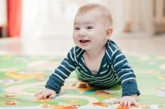 Tre-mesi di bambino immagine stock libera da diritti