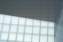 Tre moduli di una parete Fotografia Stock