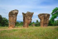 Tre monolitici Fotografia Stock