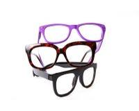Tre occhiali di accoppiamenti Immagine Stock Libera da Diritti