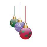 Natale Ormaments Immagini Stock