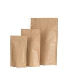 Tre packar med isolerad nolla för vinande lås Royaltyfri Fotografi