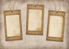 Tre pappramar Fotografering för Bildbyråer