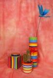 tre particolari di ceramica per la casa Fotografie Stock Libere da Diritti