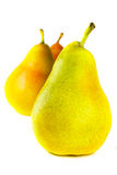 Tre pears Arkivbilder