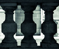 Tre pelare Royaltyfri Bild