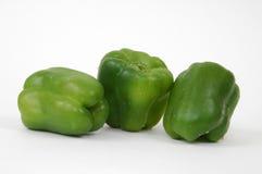 Tre peperoni fotografia stock libera da diritti