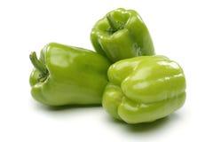 Tre peperoni dolci Immagini Stock Libere da Diritti