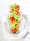 Tre piccole insalate Immagini Stock Libere da Diritti