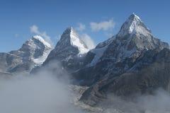tre piramidi della montagna Immagine Stock Libera da Diritti