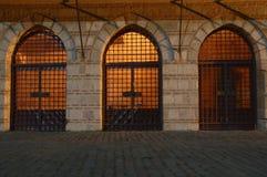 Tre portelli Fotografia Stock Libera da Diritti