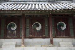 Tre portelli, il Sud Corea immagine stock libera da diritti