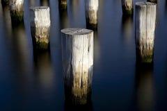 Tre pyloner Fotografering för Bildbyråer