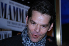 Tre-quarti anteriori della stella J Robert del Broadway fotografia stock libera da diritti