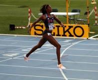 Tre-quarti anteriori di Ashley - medaglie di oro dei 400 tester Immagini Stock Libere da Diritti