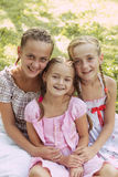 Tre ragazze Fotografia Stock