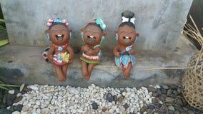 Tre ragazze pazze immagini stock