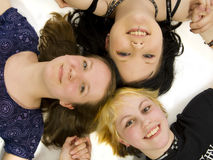 Tre ragazze teenager Fotografia Stock