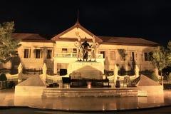 Tre re Monument nel centro di Chiang Mai Fotografie Stock