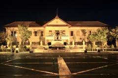 Tre re Monument nel centro di Chiang Mai Immagine Stock Libera da Diritti