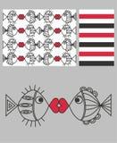 Tre reticoli differenti royalty illustrazione gratis