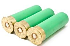 Tre richiami del fucile da caccia Fotografie Stock